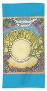 Sugarplum #5 Beach Towel