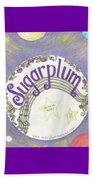 Sugarplum Logo Beach Towel
