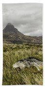 Suilven Mountain Beach Towel