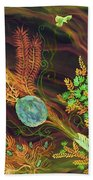 Sukkot-the Lulav Beach Towel