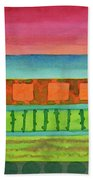 Sultry Day At The Seaside  Beach Towel