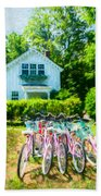 Summer Afternoon In The Hamptons Beach Towel