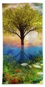 Summer At The Reef Beach Towel