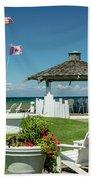Summer At The Shore Beach Towel