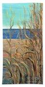 Summer Beach Grasses Beach Towel