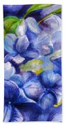 Summer Blues Beach Towel