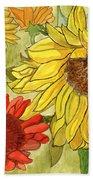Summer Bouquet Beach Towel