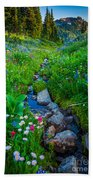 Summer Creek Beach Towel