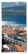 Summer Day In Sao Miguel Beach Towel