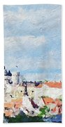 Summer Day In Tallinn Beach Towel