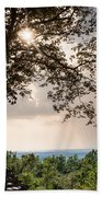 Summer Days On The Horizon Beach Towel