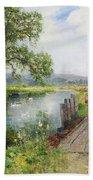 Summer Beach Towel by Ernest Walbourn