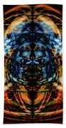 10643 Summer Fire Mask 43 - Logi Beach Towel