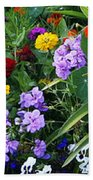 Summer Garden 3 Beach Towel