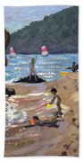 Summer In Spain Beach Towel