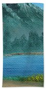 Summer In The Mountains Beach Towel