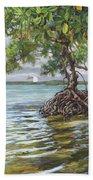 Summer Mangrove Melody Beach Towel