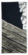 Summer On The Dock Beach Sheet