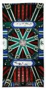 Summer Palace Ceiling Beach Towel