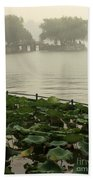 Summer Palace Serenity Beach Towel