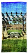 Summer Pergola Rest Spot Beach Towel
