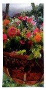 Summer Picture Window Beach Towel