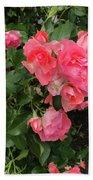 Summer Roses  Beach Towel