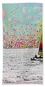 Summer Sailin Beach Towel
