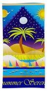 Summer Serenity Beach Towel