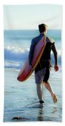 Summer Session Beach Towel