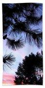 Summer Silhouettes Beach Towel