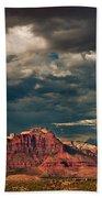 Summer Storm Zion National Park Utah Beach Towel