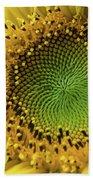 Summer Sunflower Beach Sheet