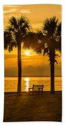 Summer Sunrise - Charleston Sc Beach Towel