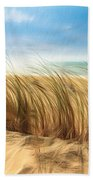 Summertime Blues Beach Towel