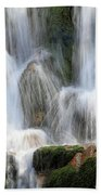 Summit Creek Waterfalls Beach Towel