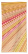 Sun Abstract Beach Towel