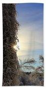 Sun And Snow  Beach Towel