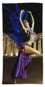 Sun Court Dancer Beach Towel