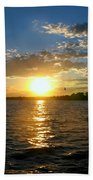 Sun Down Day Beach Towel