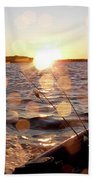 Sun Drops  Beach Towel