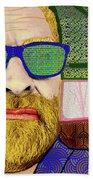 Sun Glasses Beach Towel