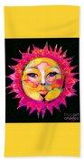 Sun Goddess She Sun Beach Towel