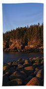 Sun Kissed Acadia Beach Towel