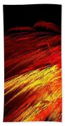 Sun Plumes Beach Towel