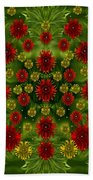 Sun Roses In The Deep Dark Forest With Fantasy And Flair Beach Towel