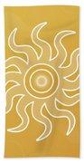 Sun Salutation Beach Sheet