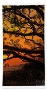 Sun Set At Rancho Palos Verdes, Cali Beach Towel