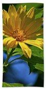 Sun Yellow Beach Towel