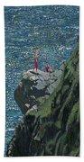 Sunbathers Cornwall Beach Towel